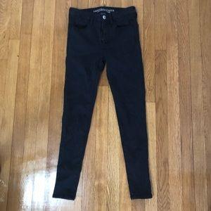 American eagle black jeans!
